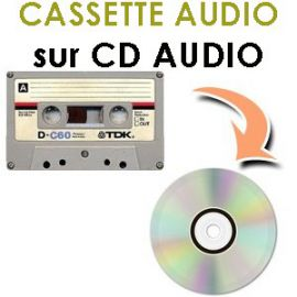 metrre k7 audio sur cd