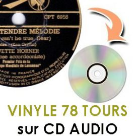78 tours sur cd