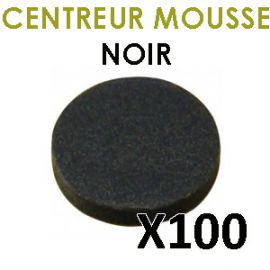 clip CD mousse noir