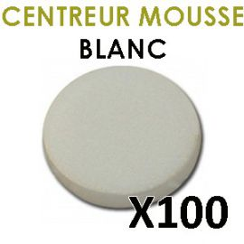 clip CD mousse blanc