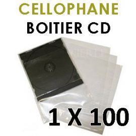 Cellophanes pour vos boitiers CD standard